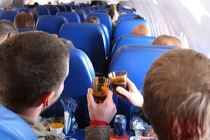 The turbulent future of drinking on planes