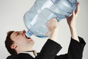 Is business developing a drinking problem?