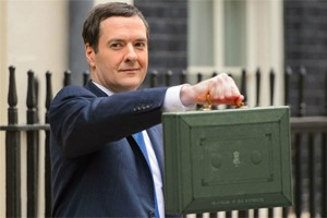 George's little red briefcase is lacking big green ideas