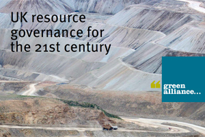 UK resource governance for the 21st century - edie.net