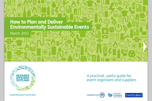 How to plan and deliver environmentally sustainable events - edie.net