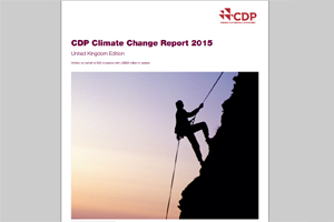 CDP Climate Change Report 2015 - edie.net