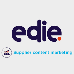 edie supplier content marketing - edie.net