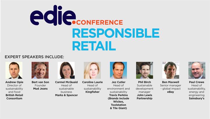 edie Responsible Retail Conference programme - edie.net