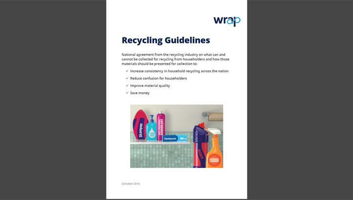 WRAP's National Recycling Guidelines - edie.net