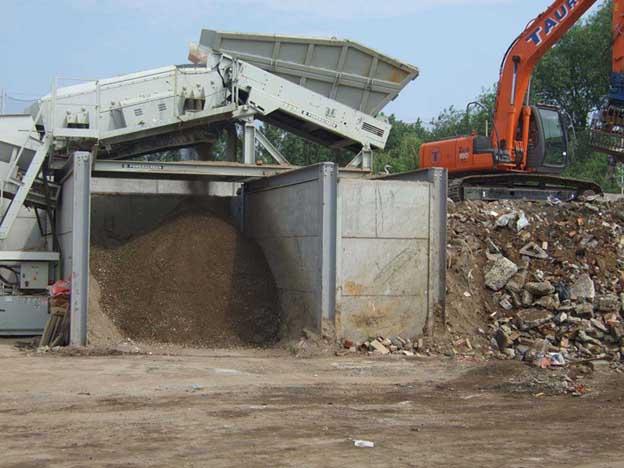 Concrete Push Wall Design : Acp precast concrete bunker walls