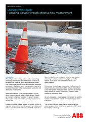 New ABB white paper tackles key water leakage issues