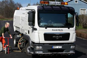 Scarab Merlin Road Sweeper