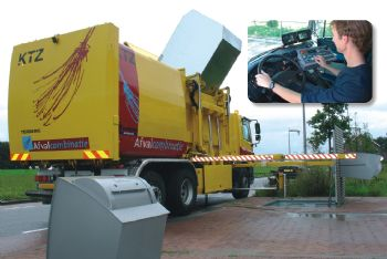 Underground and Above Ground Waste Collection System