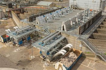 Huber Technology upgrades the Inlet Works at Duncrue Street, Belfast