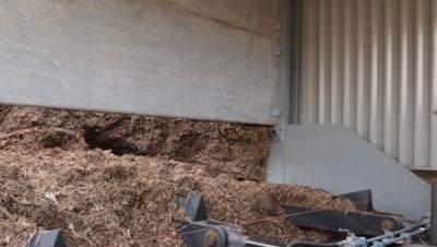 PRECAST WALLS FOR BIOMASS FUEL STORES