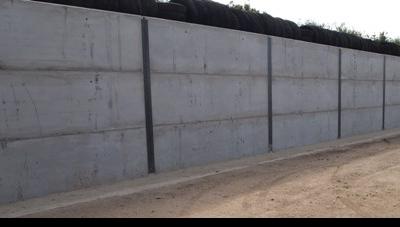 KINGPOST RETAINING WALLS - PRECAST WALL PANELS
