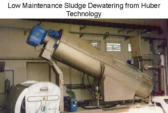 Huber Technology RoS3 - The Reliable Way to Dewater Sludge