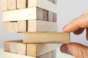 Life is like a game of Jenga for green building developers
