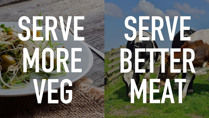 Time for foodservice to #FlipTheMenu, Serve More Veg and Better Meat