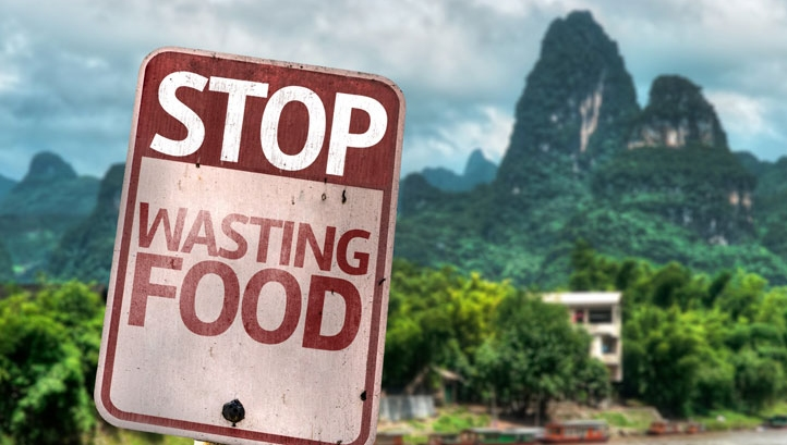 Time to climb the food waste mountain
