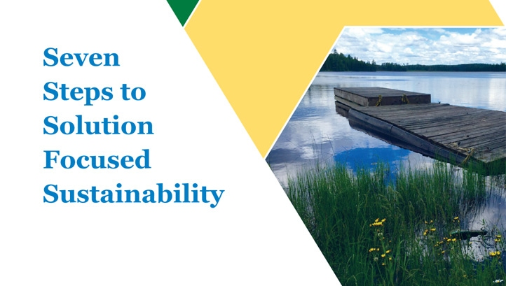 Seven steps to solution-focused sustainability