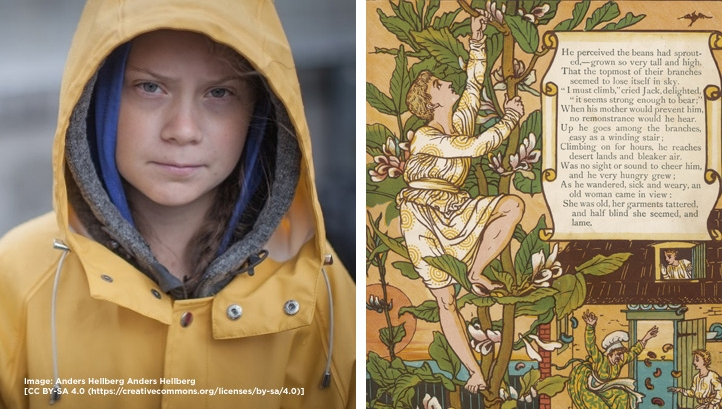 Fairytales, Thunberg and why business as usual is very worried about climate activism