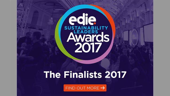 Sustainability Leaders Awards 2017: Meet the finalists - edie.net
