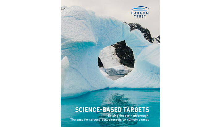 Carbon Trust: SCIENCE-BASED TARGETS - edie.net