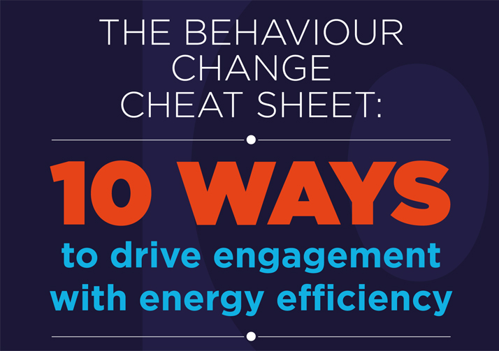 10 ways to drive engagement with energy efficiency