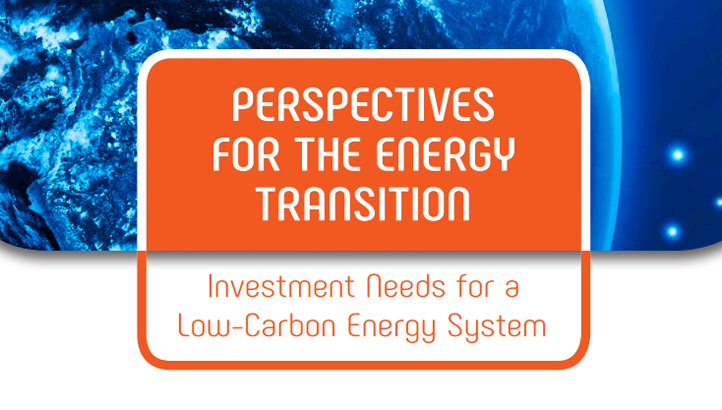Perspectives for the energy transition: Investment needs for a low-carbon energy system - edie.net
