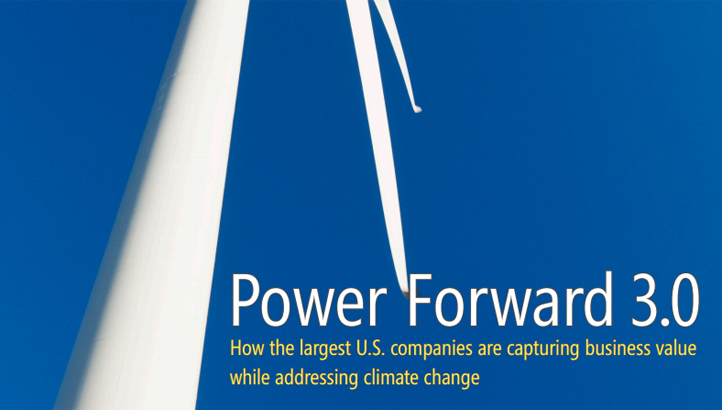Power Forward: How the largest US companies are capturing business value while addressing climate change - edie.net