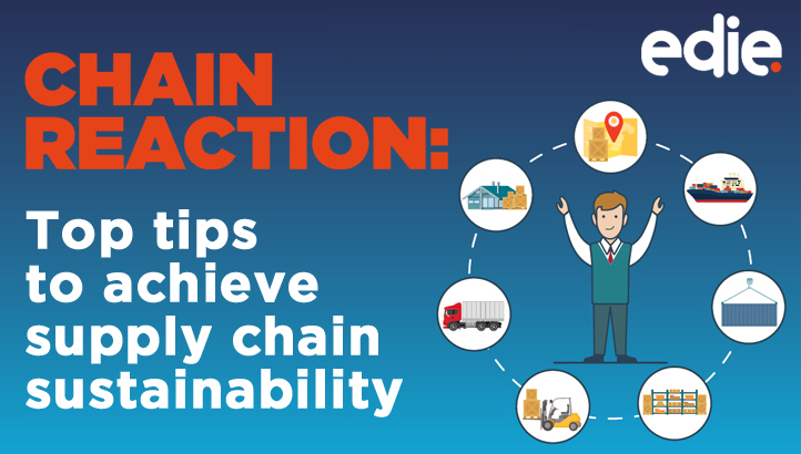 Top tips to achieve supply chain sustainability - edie.net