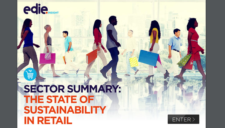Sector insight: The state of sustainability in retail - edie.net