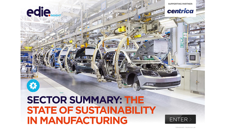 Sector summary: The state of sustainability in manufacturing