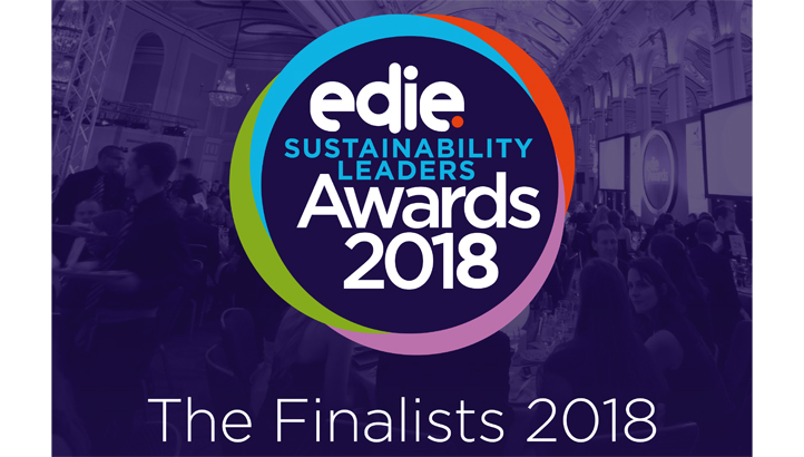 Sustainability Leaders Awards 2018: Meet the finalists - edie.net