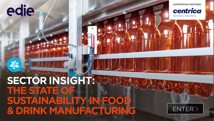 Sector insight: The state of sustainability in food and drink manufacturing  - edie.net