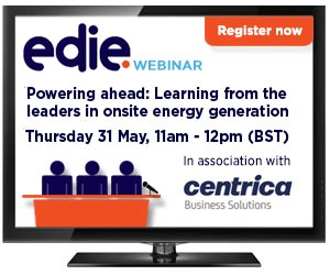 Webinar: Powering ahead: Learning from the leaders in onsite energy generation - edie.net