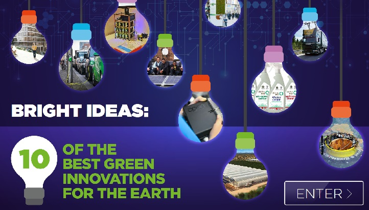 Bright Ideas: 10 of the best green innovations for the earth  - edie.net