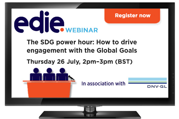 The SDG power hour: How to drive engagement with the Global Goals - edie.net