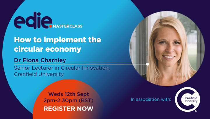 30-minute masterclass: How to implement the circular economy
