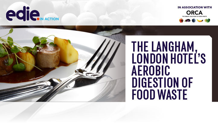 In action: The Langham London hotel's aerobic digestion of food waste - edie.net