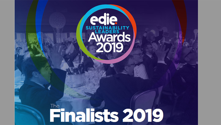 Sustainability Leaders Awards 2019: Meet the finalists - edie.net