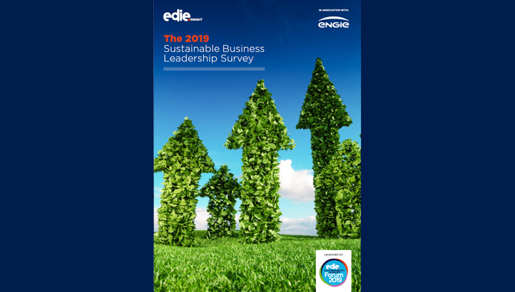 Sustainable Business Leadership Survey 2019 - The results... - edie.net