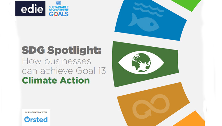 SDG Spotlight: How businesses can achieve Goal 13 – Climate Action - edie.net