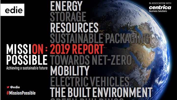 Mission Possible: The 2019 report - edie.net