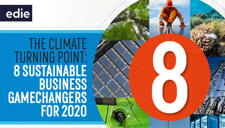 The climate turning point: 8 sustainable business gamechangers for 2020 - edie.net