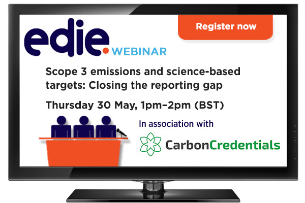 Webinar: Scope 3 emissions and science-based targets: Closing the reporting gap - edie.net