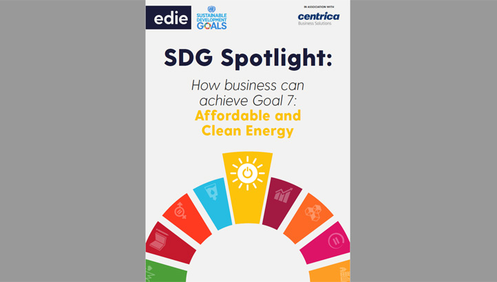SDG Spotlight: How businesses can achieve Goal 7 - Clean and affordable energy - edie.net