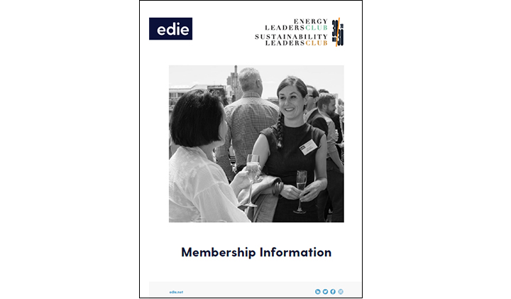 edie Leaders Clubs Membership Information - edie.net