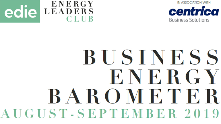 Business Energy Barometer: August - September 2019 - edie.net