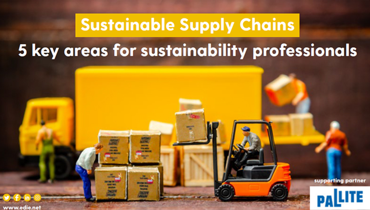 Sustainable Supply Chains: 5 key areas for sustainability professionals - edie.net
