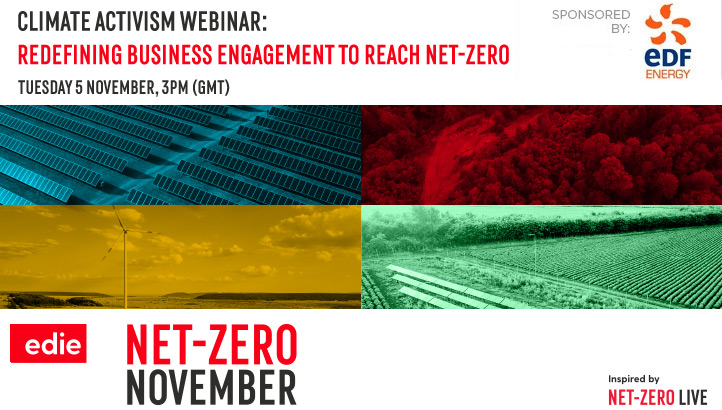 Webinar: Climate activism: Redefining business engagement to help reach net-zero - edie.net