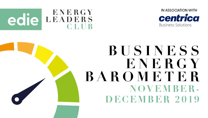 Business Energy Barometer: November-December 2019 - edie.net