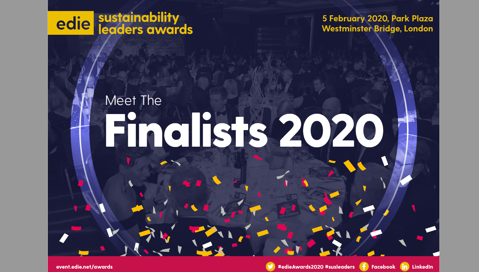 Sustainability Leaders Awards 2020: Meet the Finalists - edie.net